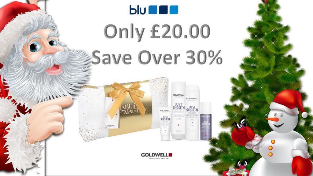 Christmas Beauty Salon.Goldwell Christmas Offer Blu Hair Salon